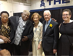 photo of Patsy, Winfred, First Lady Rosalynn Carter, President Carter and Vivian