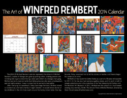 The Art of Winfred Rembert calendar-backcove3r